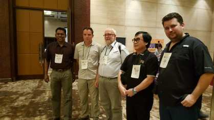 Zoo directors and Pierre at SEAZA Conference in 2017